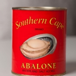 Canned green lip abalone